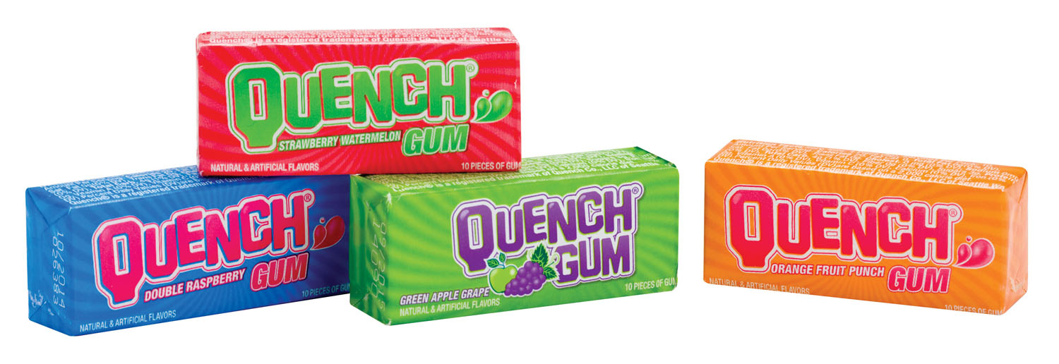 Quench Gum 10-Stick Pack Tray