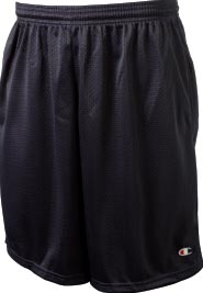 Champion Long Mesh Workout Short with Pockets 81622
