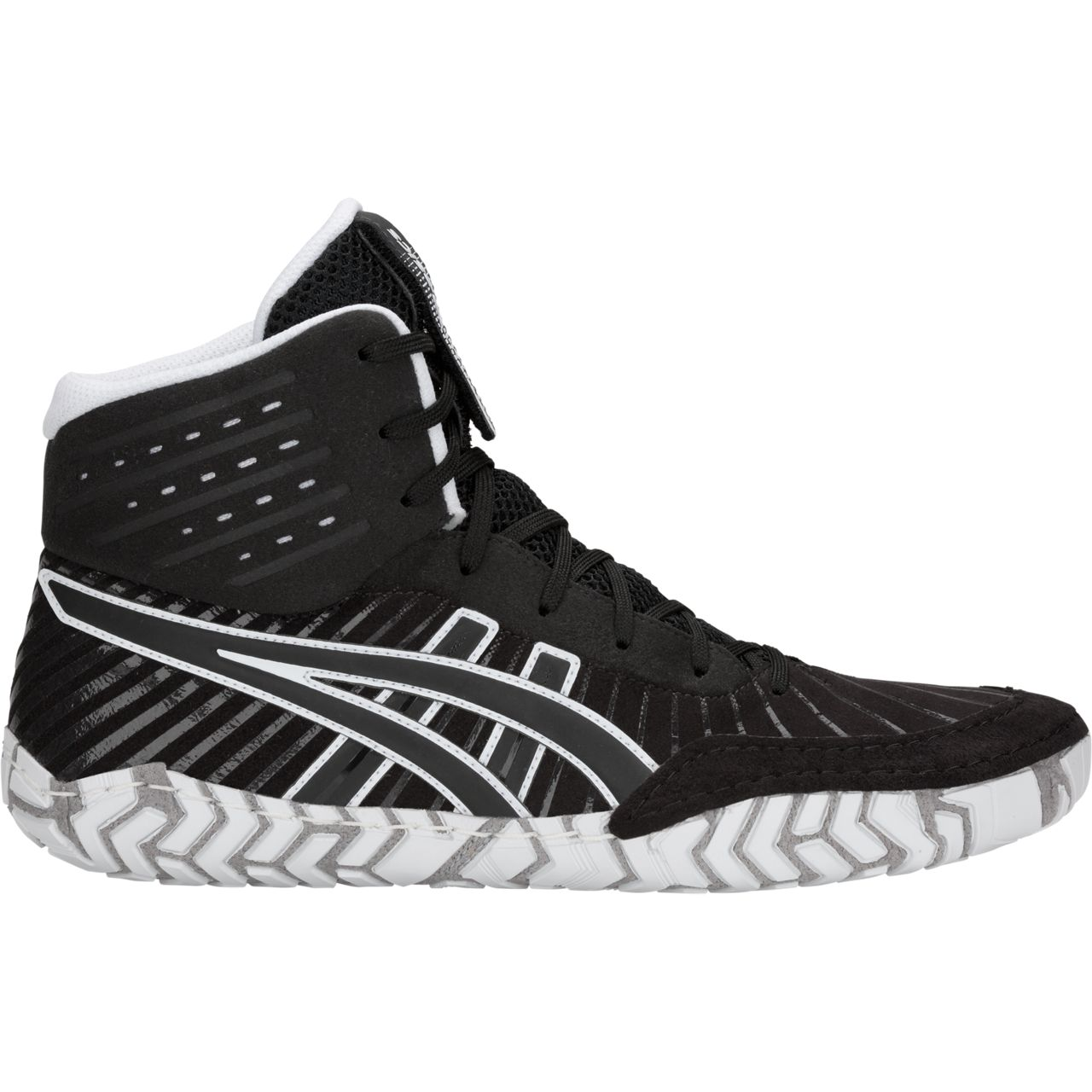 ASICS® Aggressor® 4 Wrestling Shoes *** Color: (001)