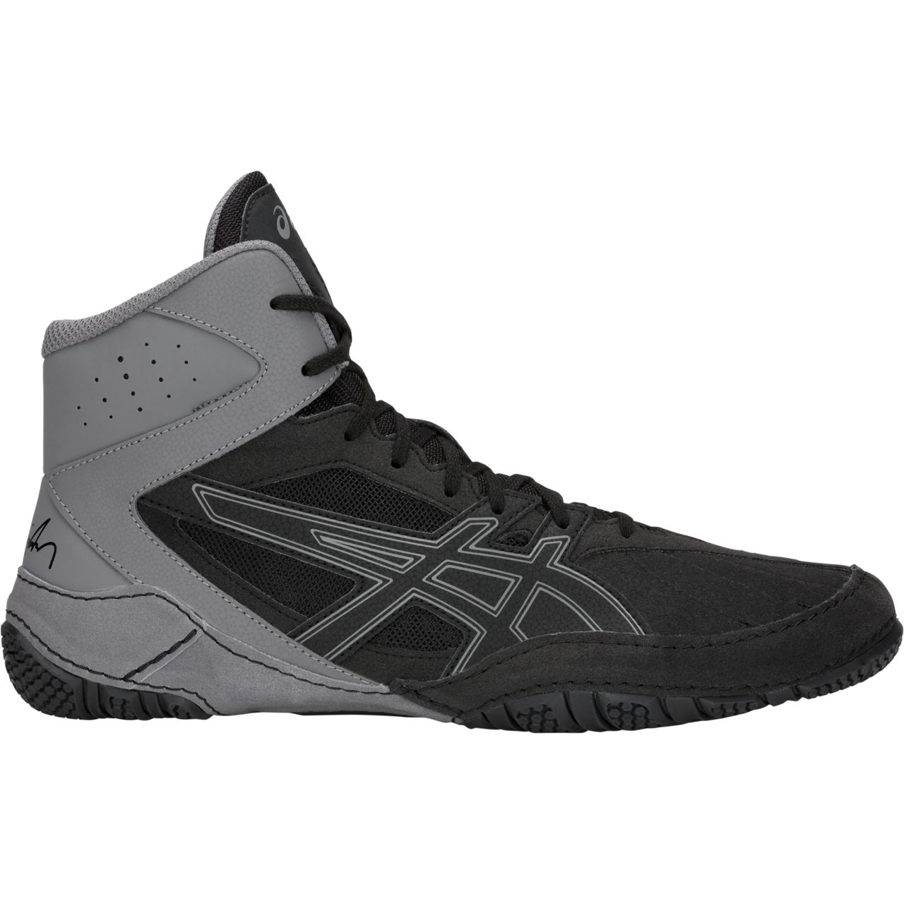 ASICS® Cael® V8.0 Wrestling Shoes **** COLOR: (001)