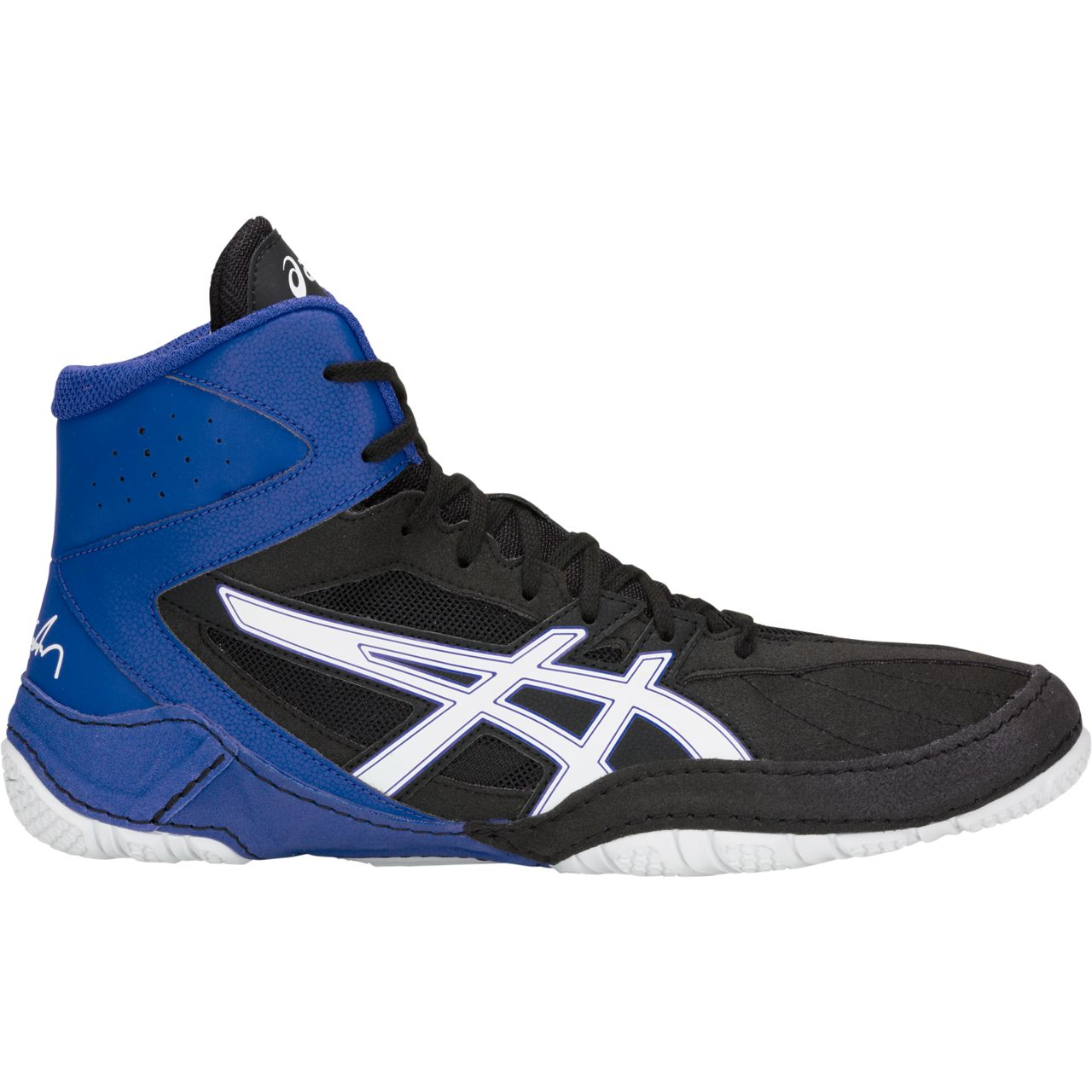 NEW!! ASICS® Cael® V8.0 Wrestling Shoes **** COLOR: (002) - Click Image to Close