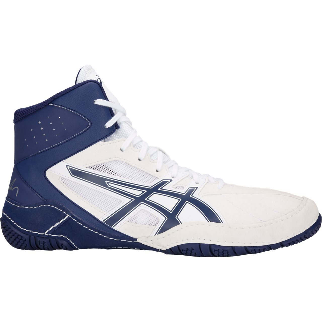 NEW!! ASICS® Cael® V8.0 Wrestling Shoes **** COLOR: (100) - Click Image to Close