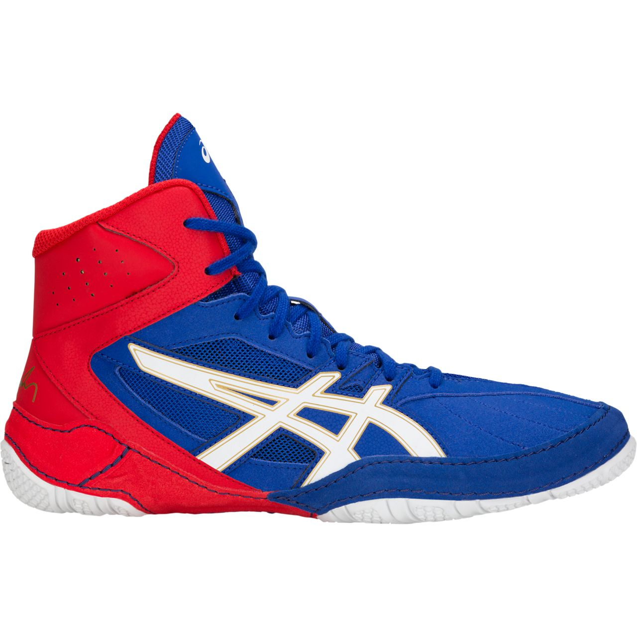 NEW!! ASICS® Cael® V8.0 Wrestling Shoes **** COLOR: (400) - Click Image to Close