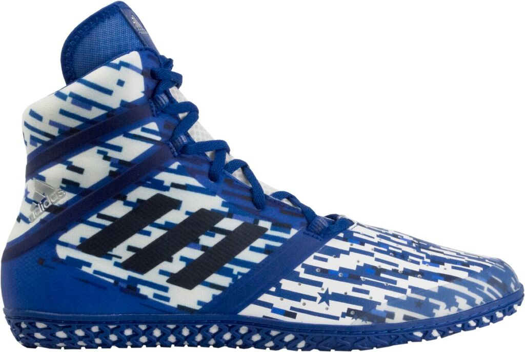 NEW!! adidas Impact™ Wrestling Shoes, color: Royal Digital Print