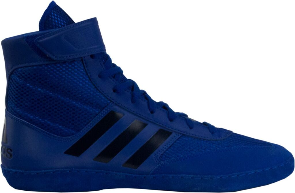 NEW Adidas Combat Speed 5 Wrestling Shoes, color: Royal/Dk Royal