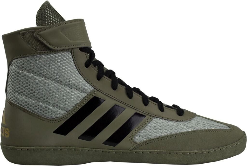 Adidas Combat Speed 5 Wrestling Shoes, color: Tan/Blk/Silv