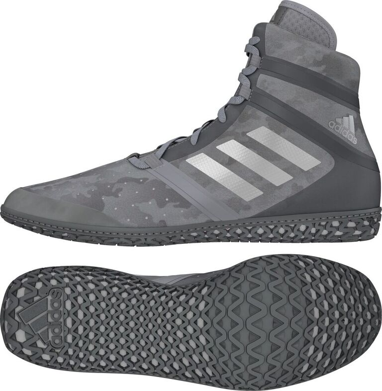 NEW!! adidas Impact™ Wrestling Shoes, color: Grey Camo Print