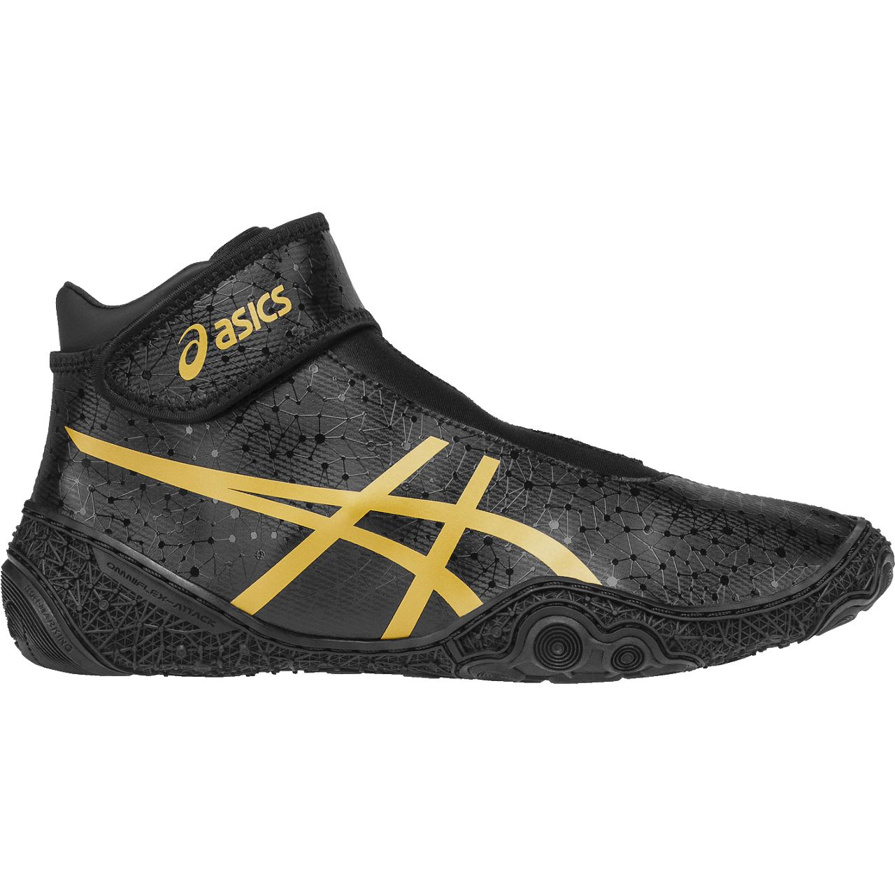 NEW! ASICS® Omniflex-Attack™ V2.0 Wrestling Shoes *Color: (9094)