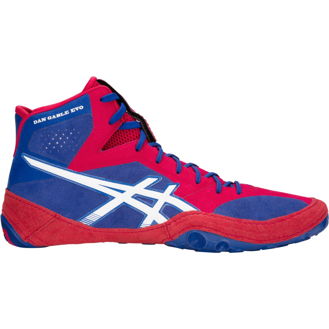ASICS® Dan Gable Evo Wrestling Shoes, Color: (400)