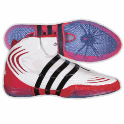 0677 Adidas adiStrike John Smith Signature Wrestling Shoes [0677 ...
