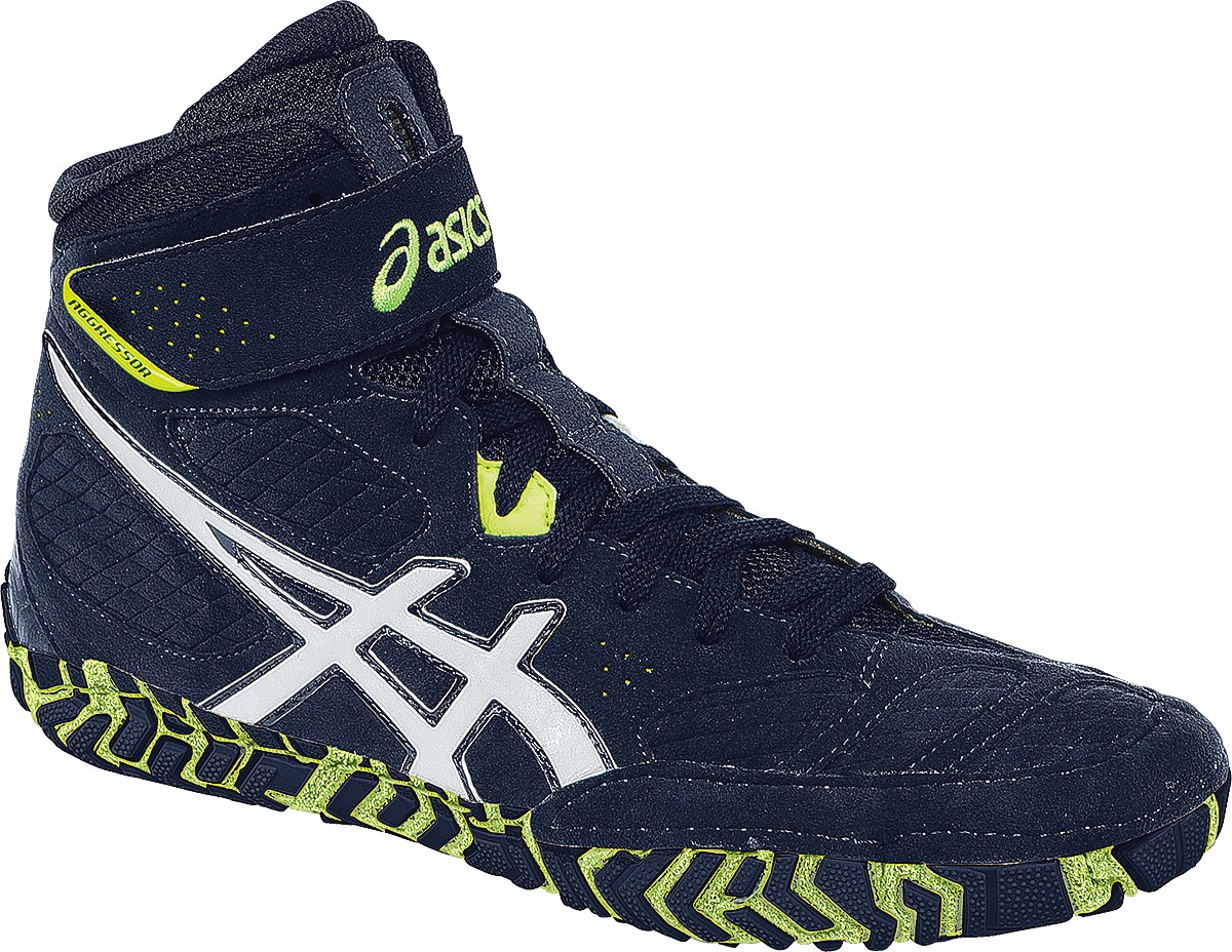 ASICS® Aggressor® 2 Wrestling Shoes *** Color: (5101)