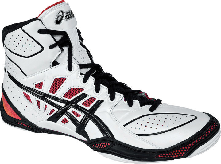 ASICS® Dan Gable Ultimate® 3 Wrestling Shoes, Color: (0190) - Click Image to Close