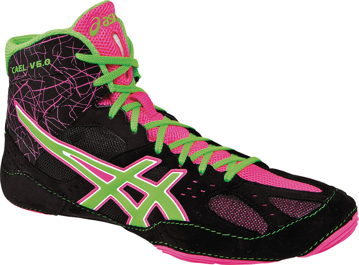 ASICS® Cael® V6.0 Wrestling Shoes **** COLOR: (9005)