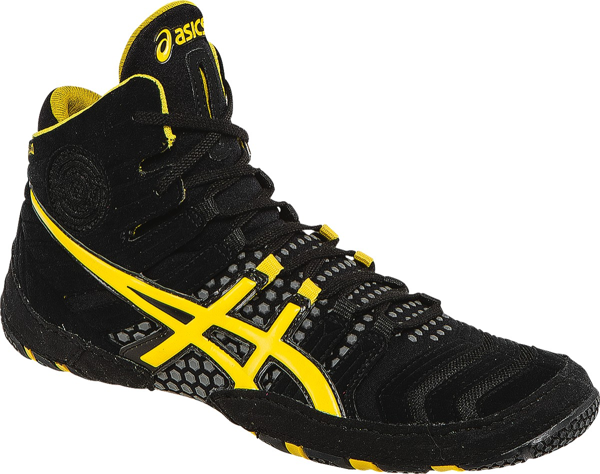 NEW! ASICS� Dan Gable Ultimate� 4 Wrestling Shoes, Color: (9005)