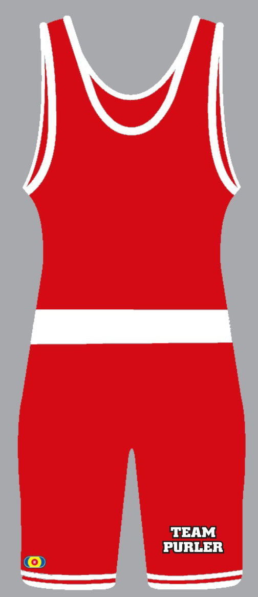 PWA 8520 Team Purler / PWA Custom Singlet, color: Red