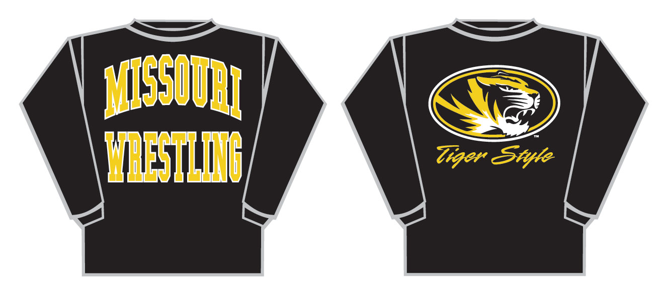 MU Wrestling Black Long Sleeve