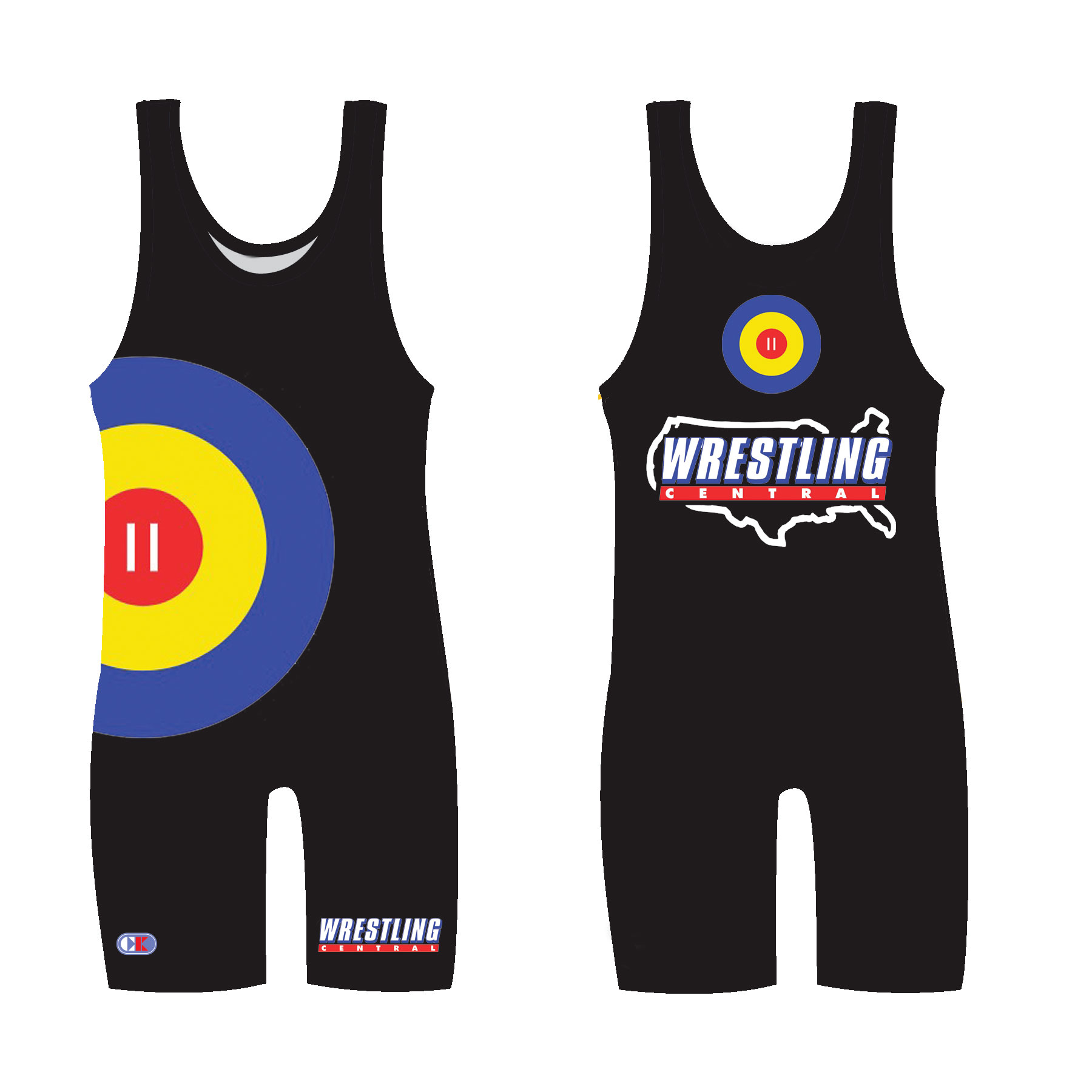 WCM7986 WC Sublimated Singlet