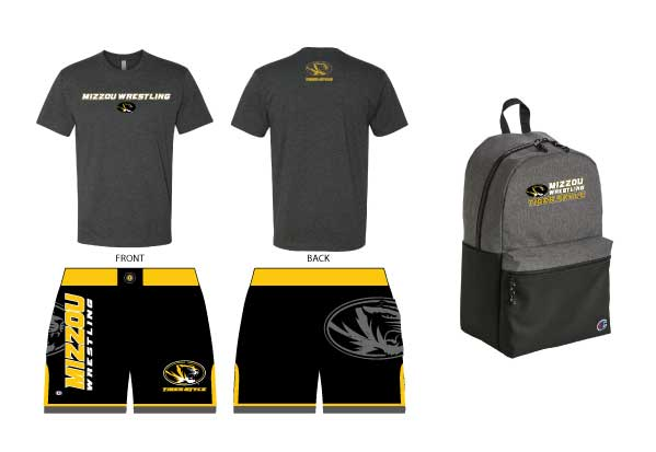 WC Mizzou Team Combo Package #2, color: Black/Gold/Grey