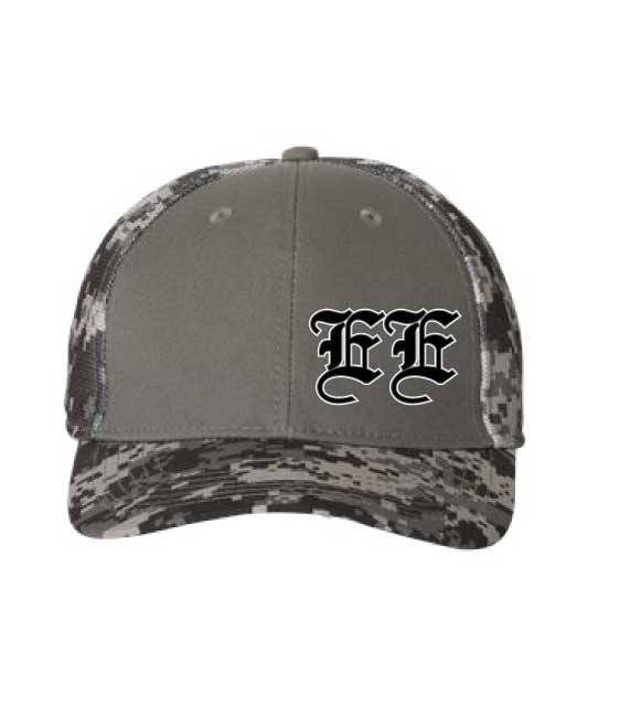 Outdoor Cap® Digital Camo Cap, color: Charcoal/Black