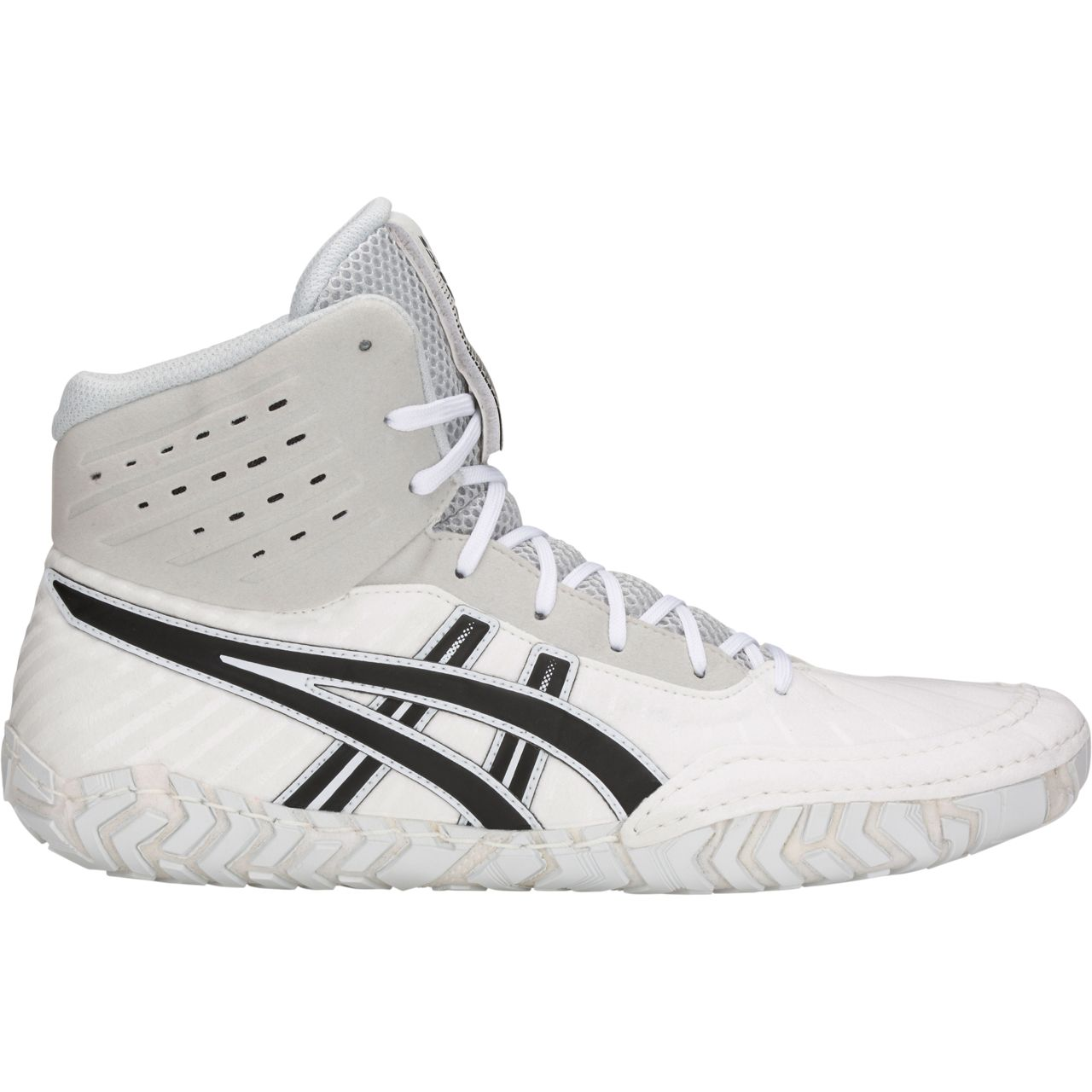 NEW! ASICS® Aggressor® 4 Wrestling Shoes *** Color: (100)