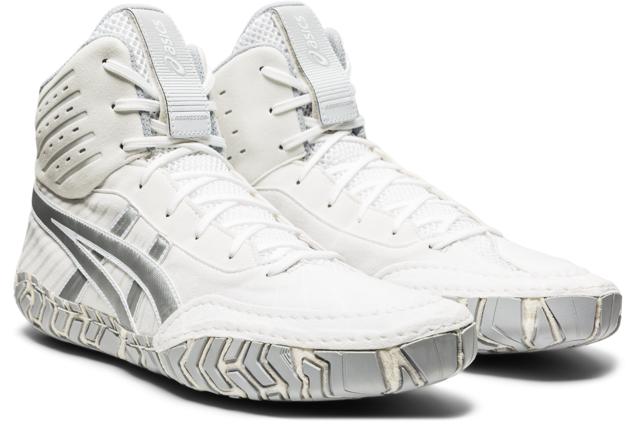 NEW!! ASICS® Aggressor® 4 Wrestling Shoes *** Color: (102)