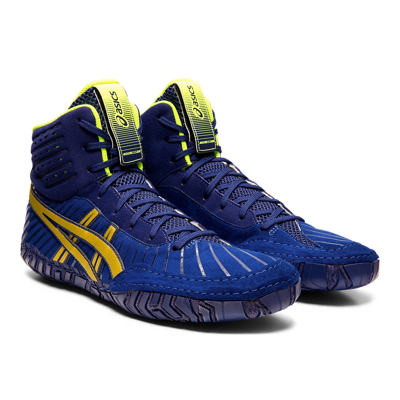 NEW!! ASICS® Aggressor® 4 Wrestling Shoes *** Color: (400)