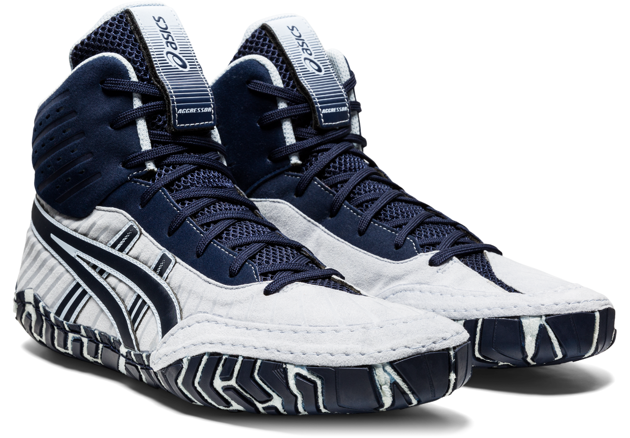 NEW!! ASICS® Aggressor® 4 Wrestling Shoes *** Color: (401)