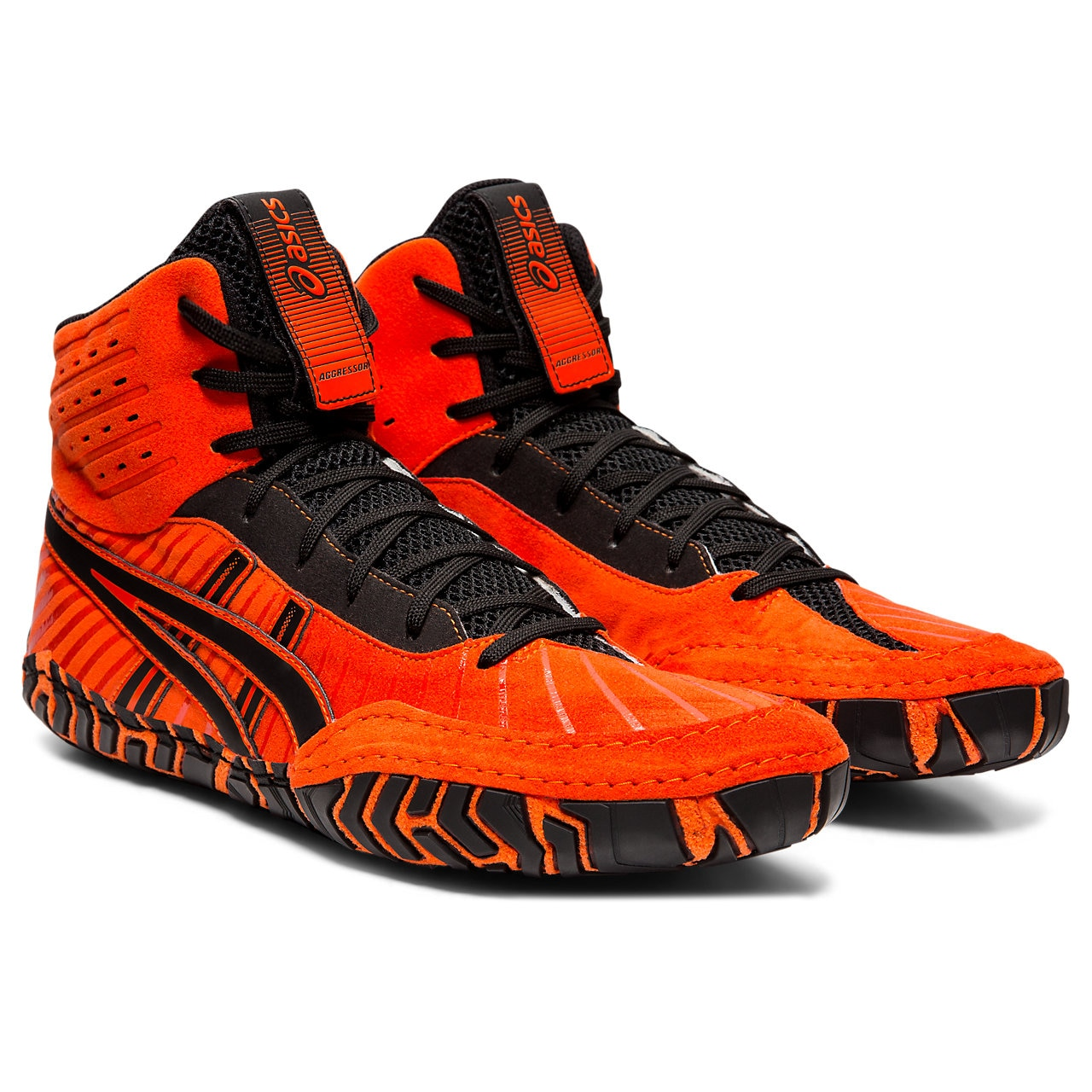 ASICS® Aggressor® 4 Wrestling Shoes *** Color: (800)