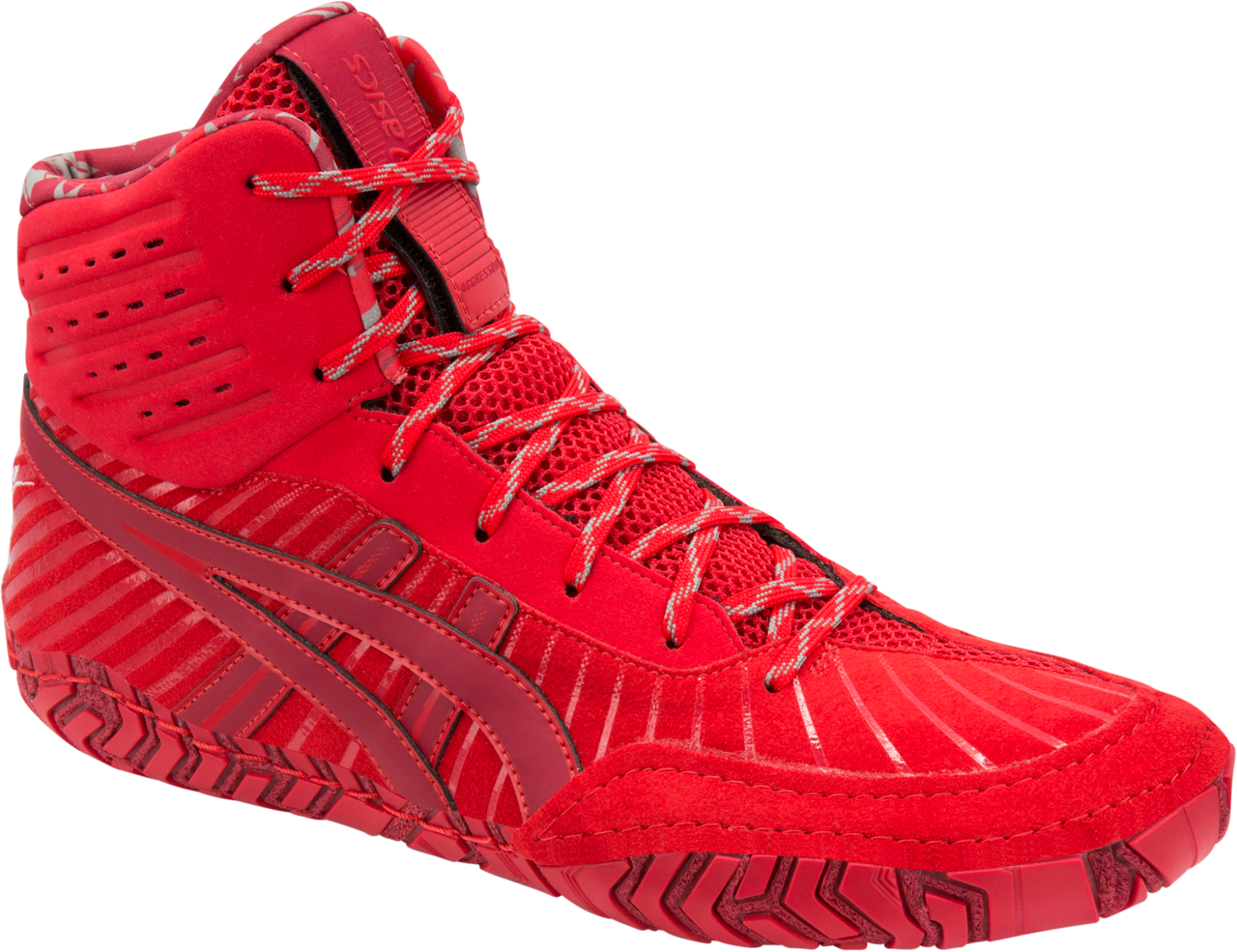 ASICS® Aggressor® 4 LE Wrestling Shoes, Color: (600)