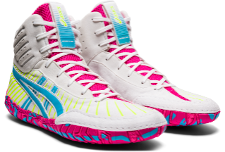 NEW!! ASICS® Aggressor® 4 Wrestling Shoes *** Color: (100)