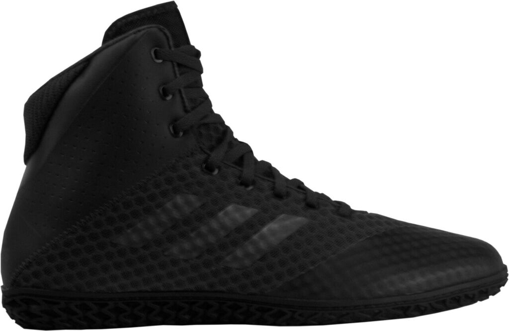 adidas Mat Wizard 4 Wrestling Shoe, color: Carbon/Black
