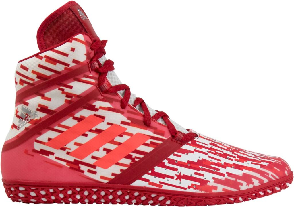 adidas Impact™ Wrestling Shoes, color: Red Digital Print