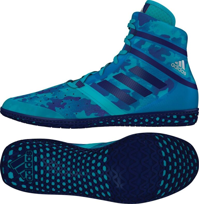 adidas Impact™ Wrestling Shoes, color: Turqouise Camo Print