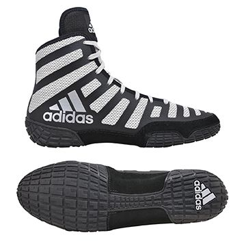 NEW!! adiZero™ Varner II Wrestling Shoes, color: Black/Silver