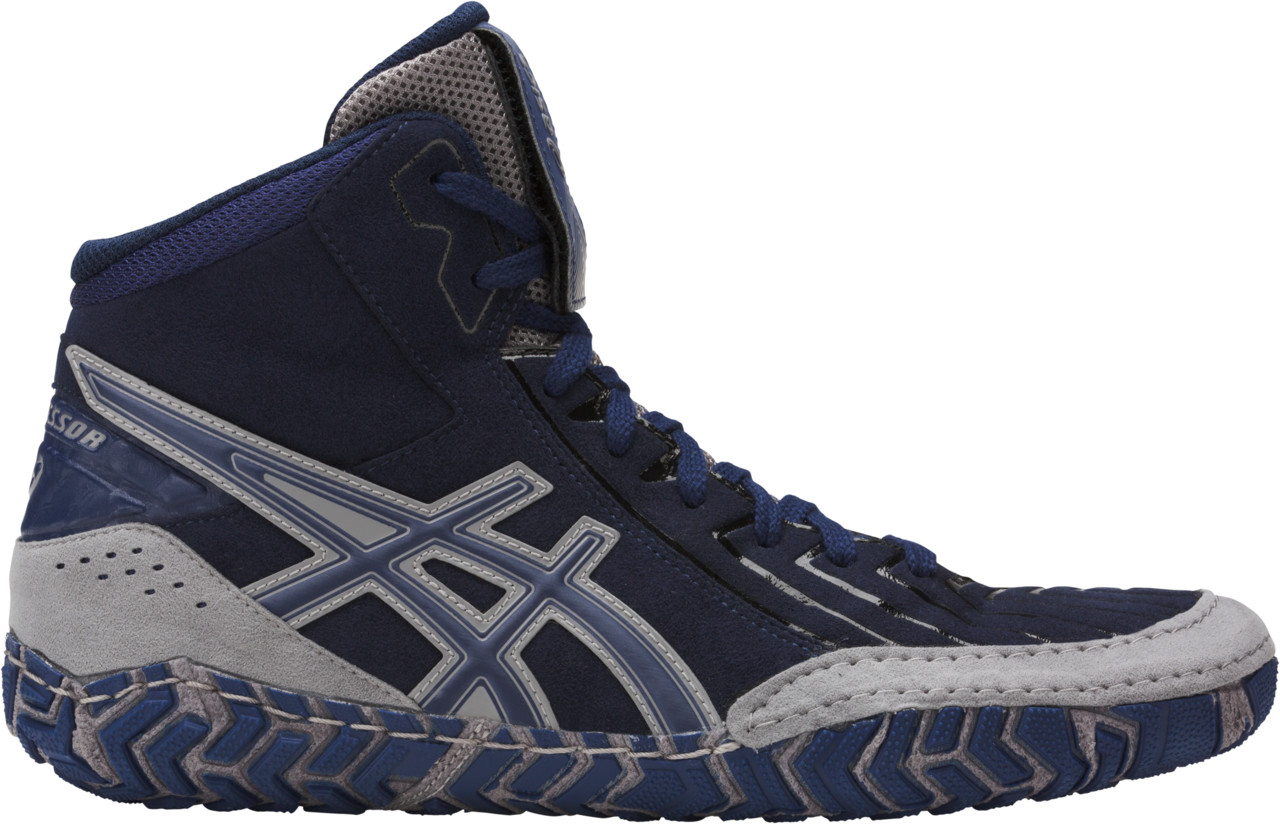 ASICS® Aggressor® 3 Wrestling Shoes *** Color: (4949)