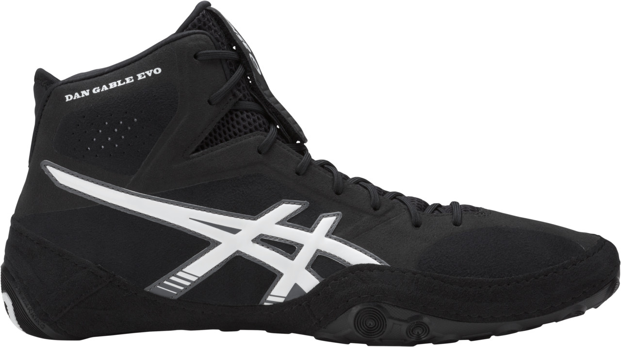 ASICS® Dan Gable Evo Wrestling Shoes, Color: (9001)