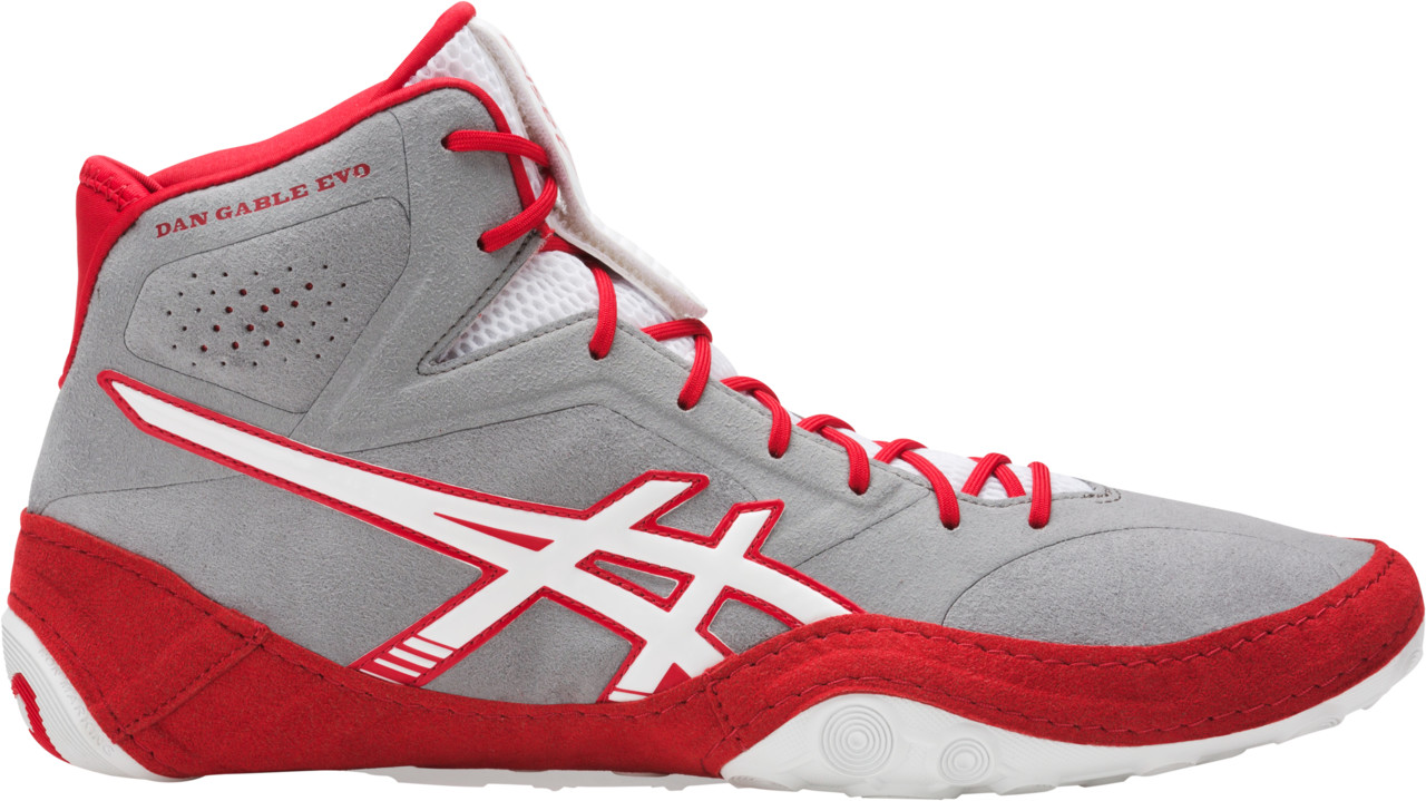ASICS® Dan Gable Evo Wrestling Shoes, Color: (9601)