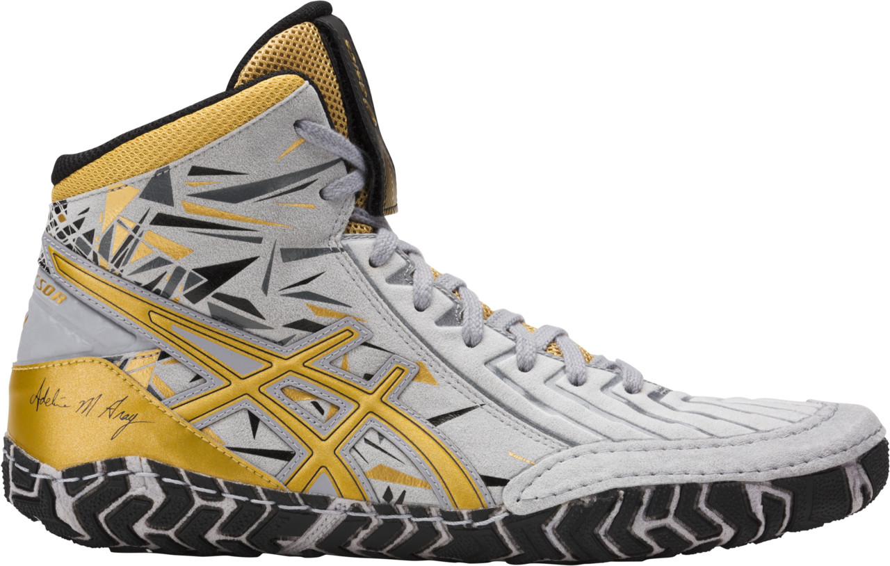 ASICS® Aggressor® 3 LE A.G. Wrestling Shoes, Color: (1594)
