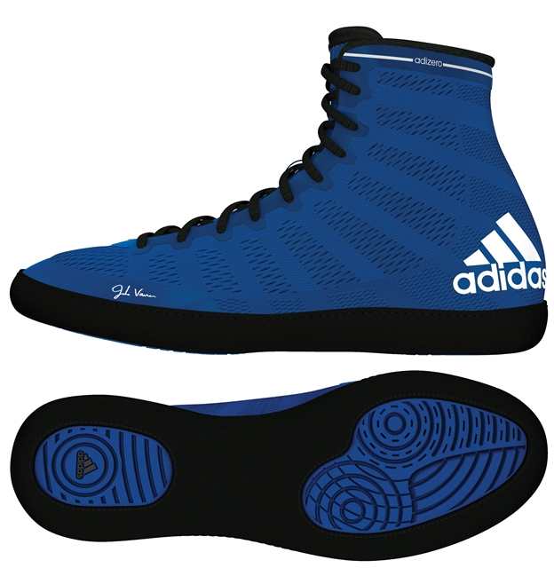 adidas adizero™ Varner Wrestling Shoes, color: Royal/Black