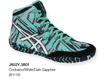 ASICS® Aggressor® 3 LE Geo Wrestling Shoes, Color: (3801)