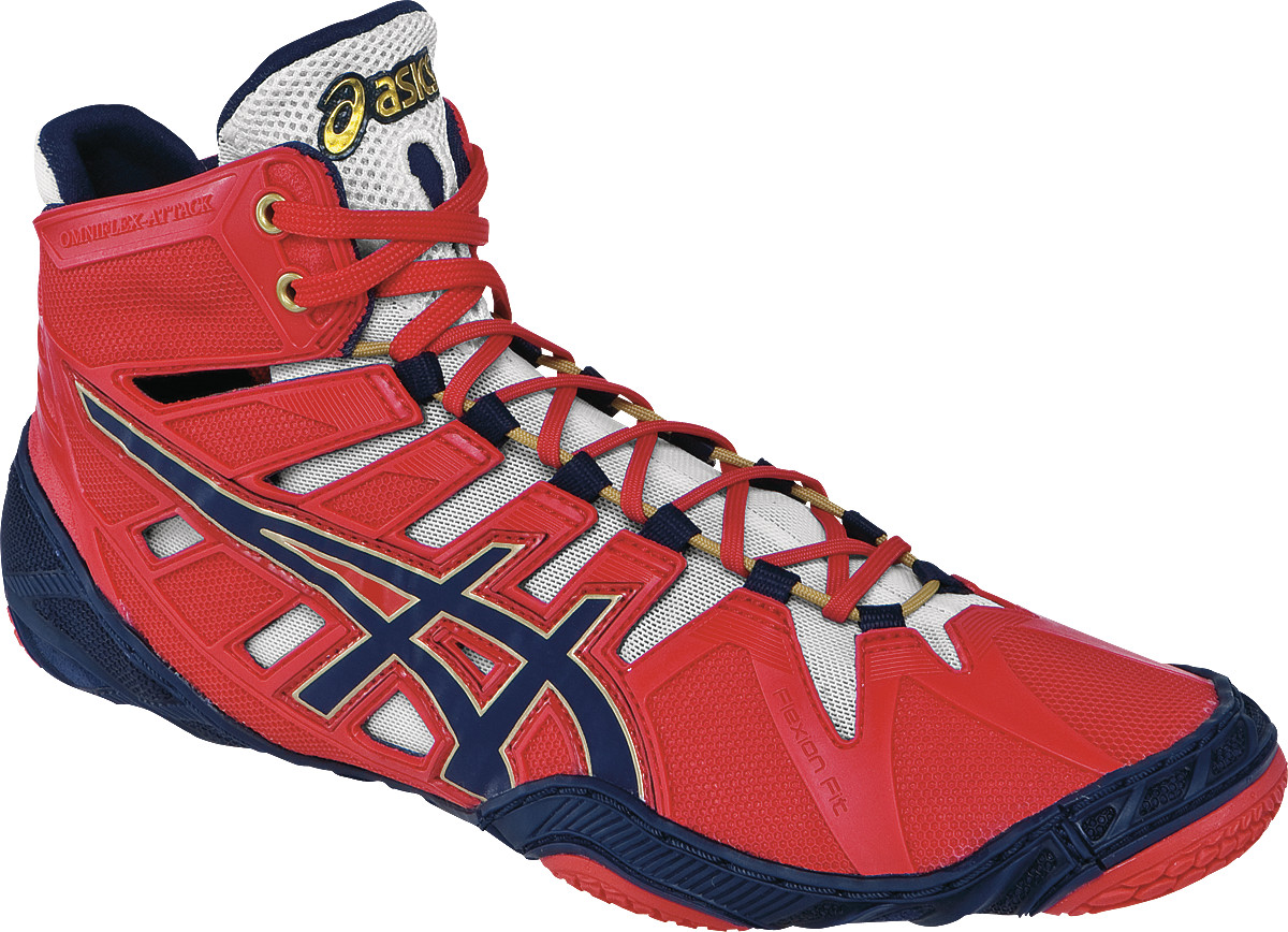 ASICS® Omniflex-Attack™ Wrestling Shoes ** Color: (2350)