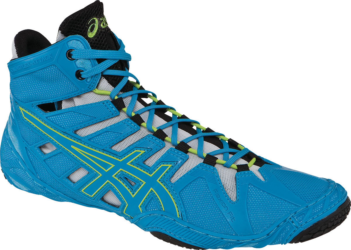 ASICS® Omniflex-Attack™ Wrestling Shoes ** Color: (4343)