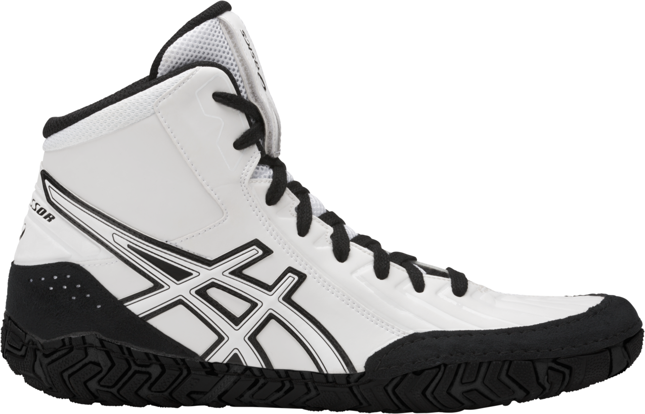 ASICS® Aggressor® 3 Wrestling Shoes *** Color: (0101)
