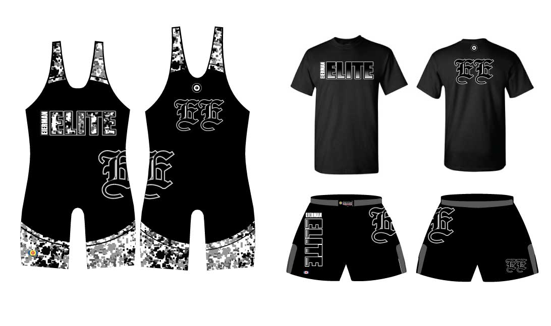 WC EE Team Combo Package, color: Black/Digital Camo