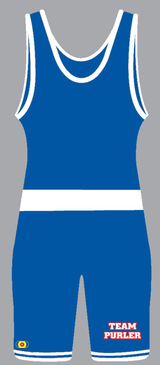 PWA 8520 Team Purler / PWA Custom Singlet, color: Royal